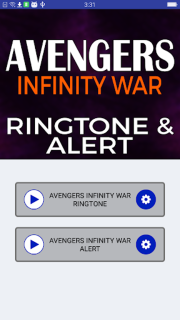 Avengers Infinity War Ringtone and Alert screenshot 4