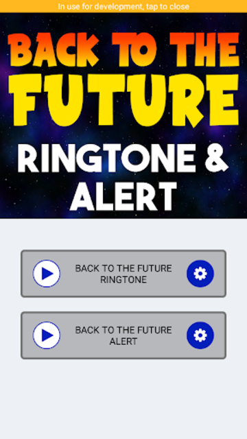 Back To The Future Ringtone and Alert screenshot 4