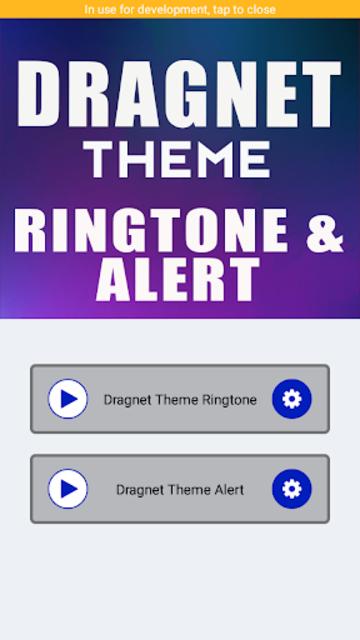 Dragnet Theme Ringtone And Alert screenshot 2