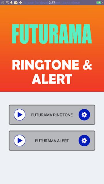 Futurama Ringtone and Alert screenshot 4