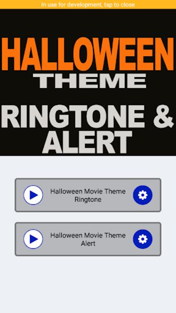 Halloween Movie Theme Ringtone and Alert screenshot 2