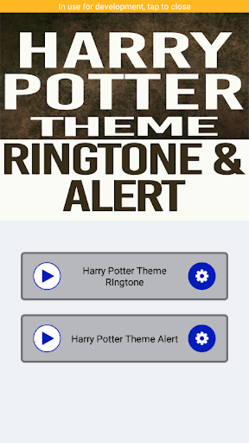 Harry Potter Ringtone and Alert screenshot 2