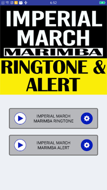 Imperial March Marimba Ringtone and Alert screenshot 2