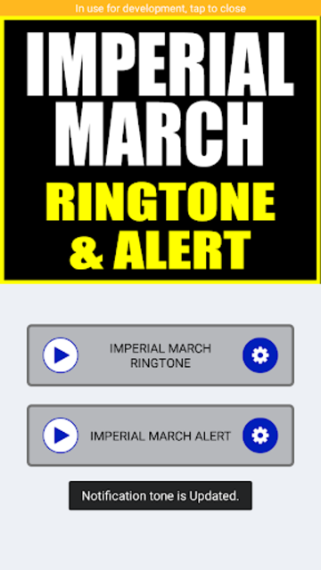 Imperial March Ringtone and Alert screenshot 4