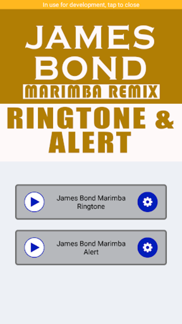 James Bond Marimba Remix Ringtone And Alert screenshot 2
