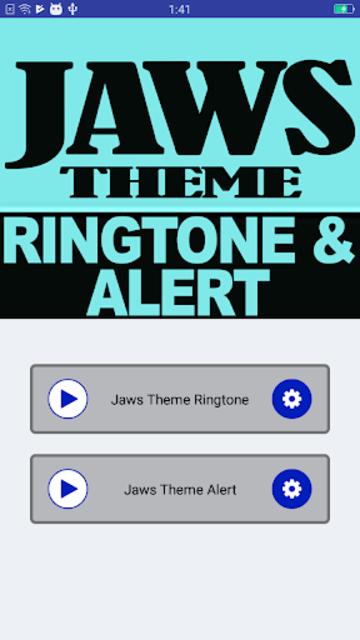 Jaws Ringtone and Alert screenshot 2