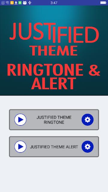 Justified Theme Ringtone and Alert screenshot 2