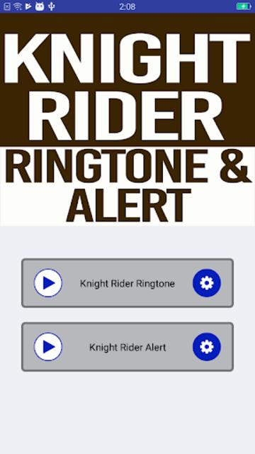 Knight Rider Ringtone and Alert screenshot 2