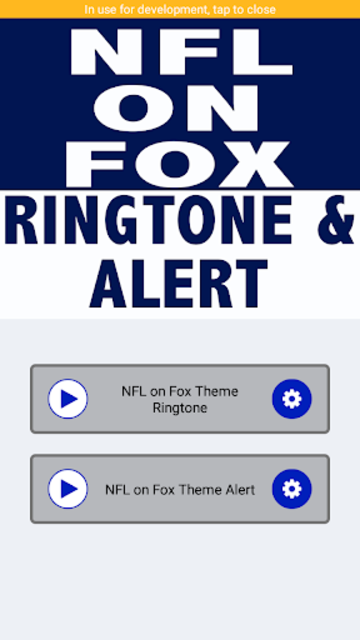 NFL on Fox Ringtone and Alert screenshot 2