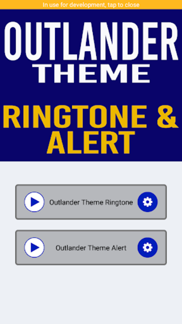 Outlander Ringtone and Alert screenshot 2