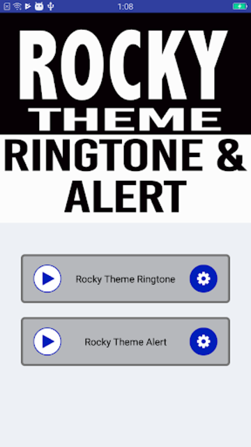 Rocky Ringtone and Alert screenshot 4