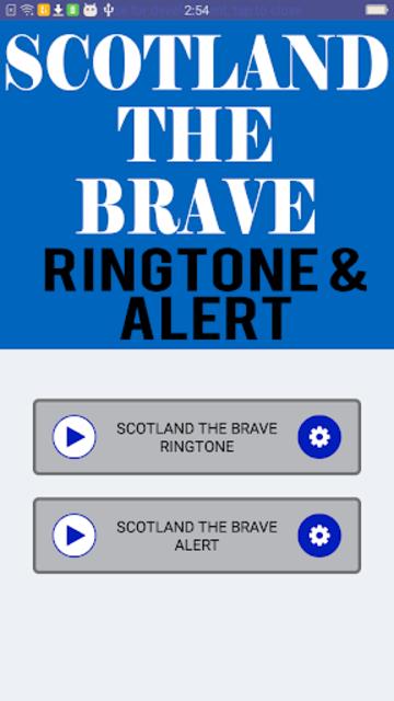 Scotland The Brave Ringtone and Alert screenshot 4