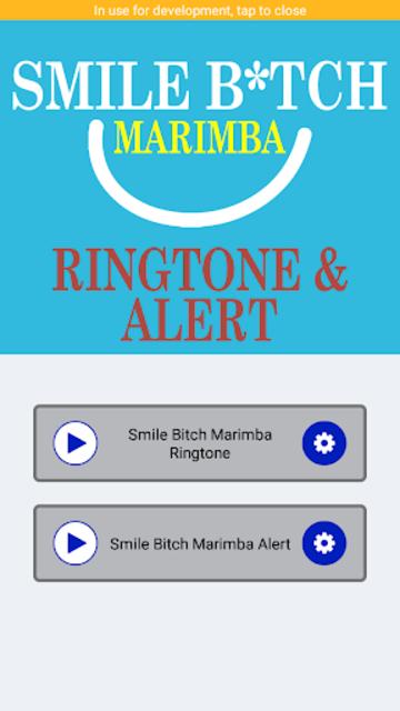 Smile B*tch Marimba Ringtone And Alert screenshot 2