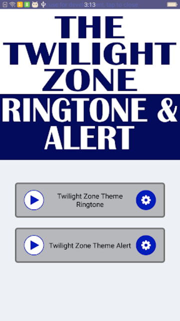 Twilight Zone Theme Ringtone and Alert screenshot 2