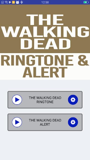 The Walking Dead Ringtone and Alert screenshot 2