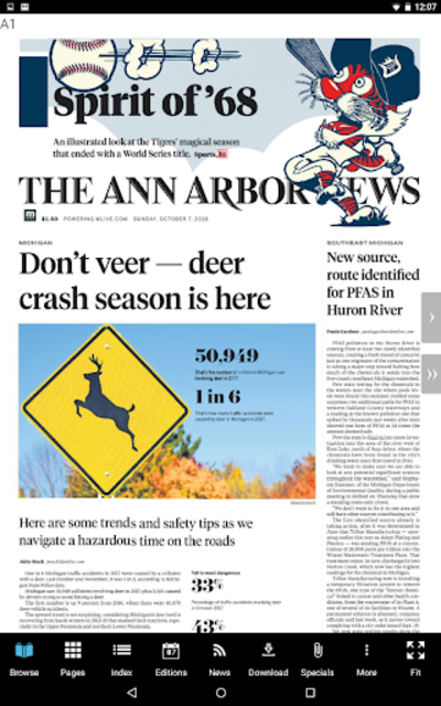 Ann Arbor News screenshot 11