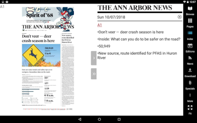 Ann Arbor News screenshot 14