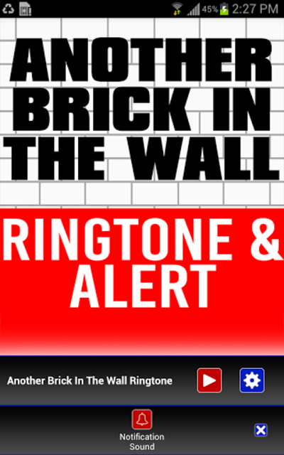Another Brick In The Wall Tone screenshot 2