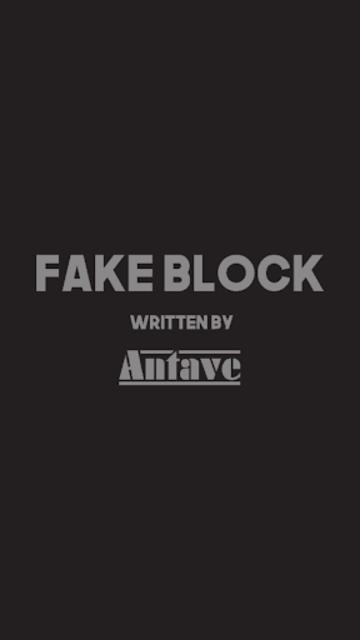 Fake Block Free screenshot 1