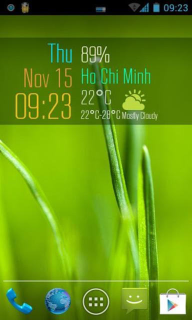 Beautiful Clock Widget Pro screenshot 4