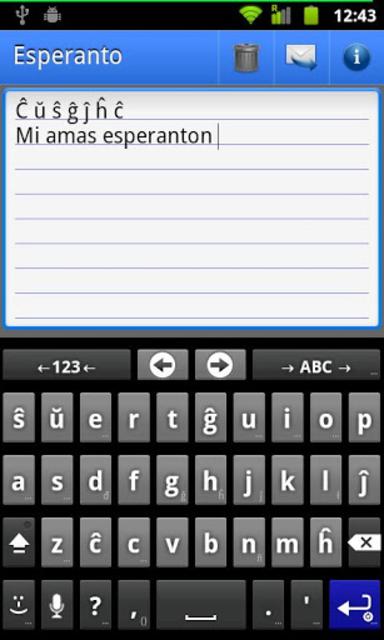 Esperanto Language Pack screenshot 1