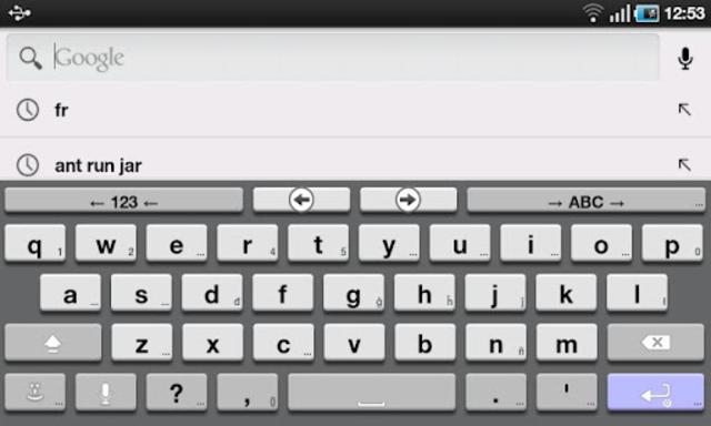 AnySoftKeyboard 3D Theme screenshot 1