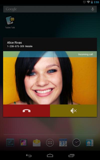 Tablet Talk: SMS & Texting App screenshot 1