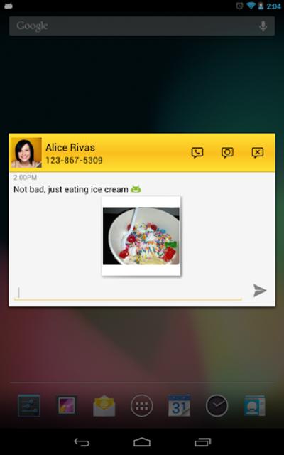 Tablet Talk: SMS & Texting App screenshot 4