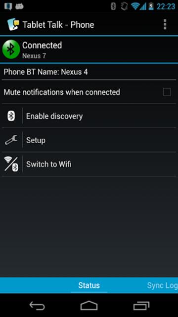Tablet Talk: SMS & Texting App screenshot 6