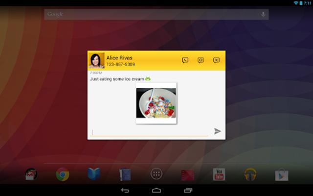 Tablet Talk: SMS & Texting App screenshot 11