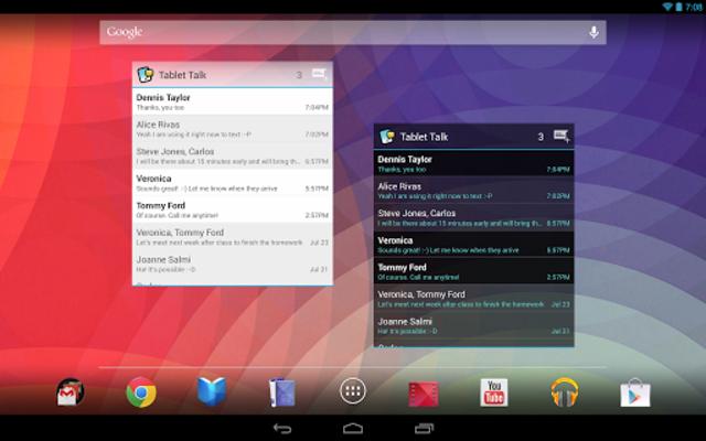 Tablet Talk: SMS & Texting App screenshot 12