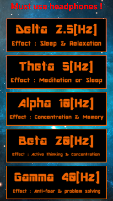 Binaural Beats - Pro screenshot 2