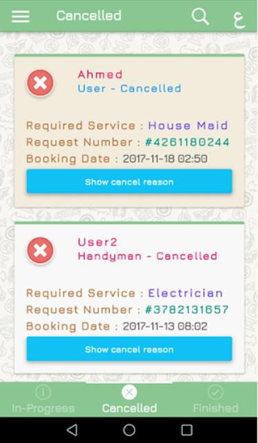 Handyman- Home Services,Maintenance,Syanah- صيانه screenshot 5