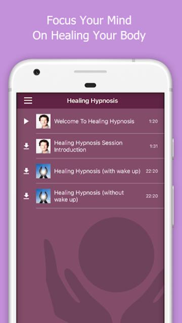 Healing Hypnosis Meditation screenshot 1