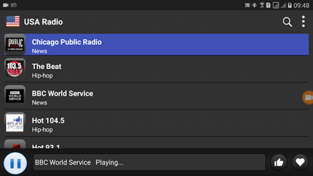 USA Radio  - AM FM Online screenshot 5