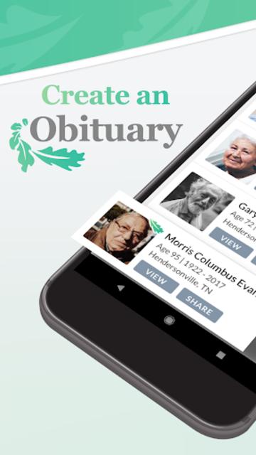MyObits - Obituary, Memorial, and Funeral Notices screenshot 2