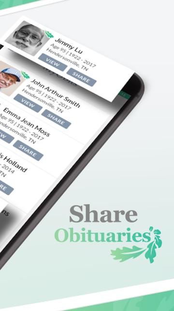 MyObits - Obituary, Memorial, and Funeral Notices screenshot 3