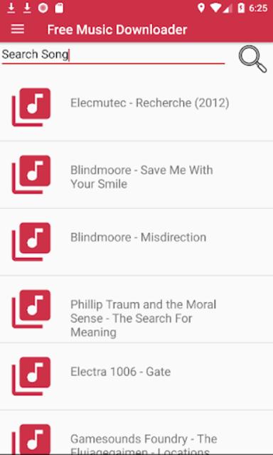Free Mp3 Download Music screenshot 1