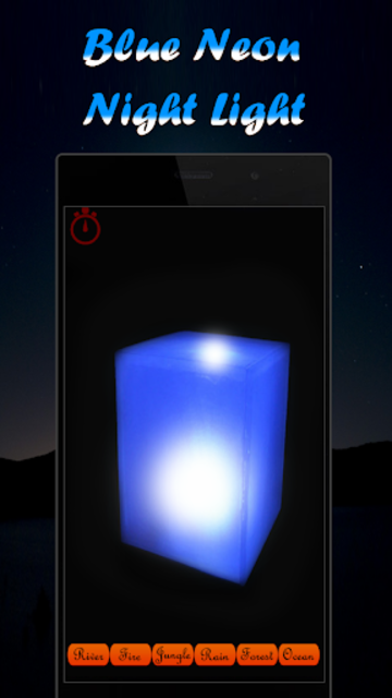 Musical Night Light : lamps, candles, fireplace screenshot 3