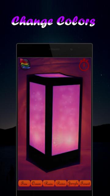 Musical Night Light : lamps, candles, fireplace screenshot 4