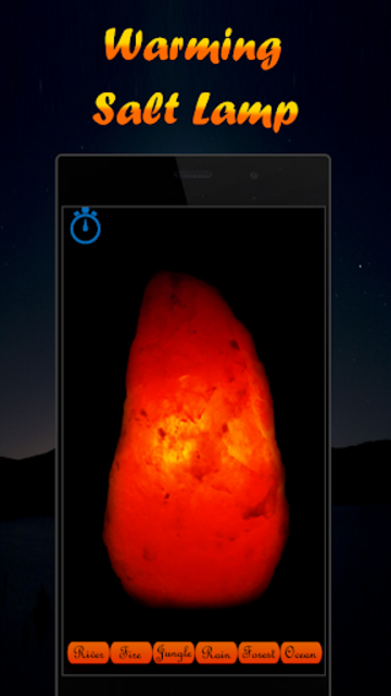 Musical Night Light : lamps, candles, fireplace screenshot 5