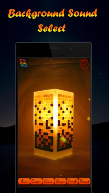 Musical Night Light : lamps, candles, fireplace screenshot 6