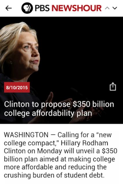 PBS NEWSHOUR - Official screenshot 3