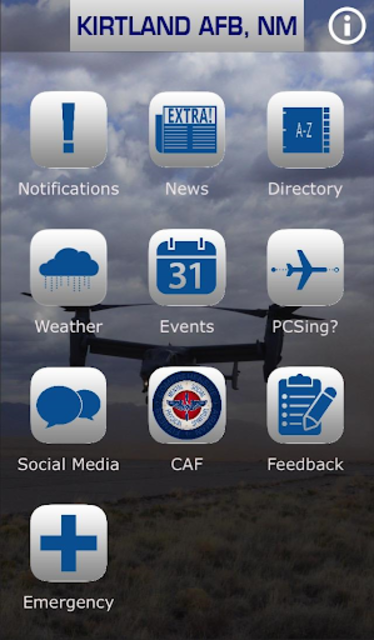 Kirtland Air Force Base screenshot 1
