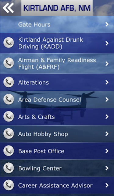 Kirtland Air Force Base screenshot 4
