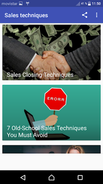 Sales Techniques screenshot 2