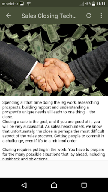Sales Techniques screenshot 8