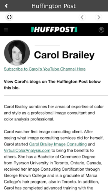 Shopping My Colors By Carol Brailey screenshot 2