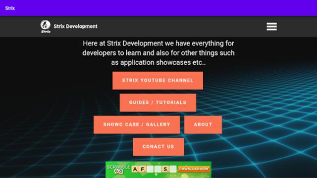 Strix Development screenshot 2