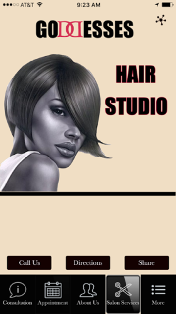 GODDESSES HAIR STUDIO screenshot 1